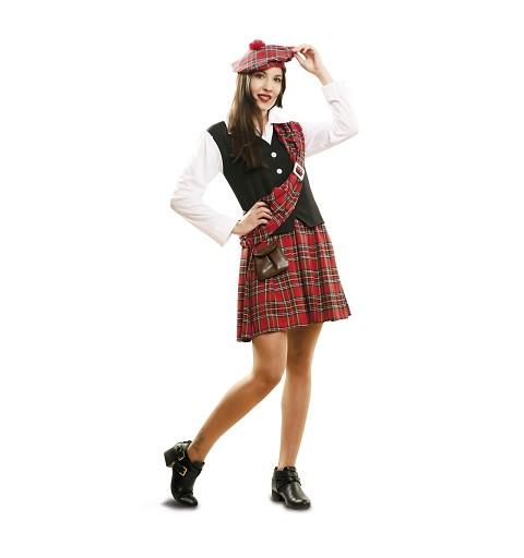 Disfraz Escocesa Mujer
