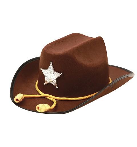 Sombrero Sheriff con Cordón...