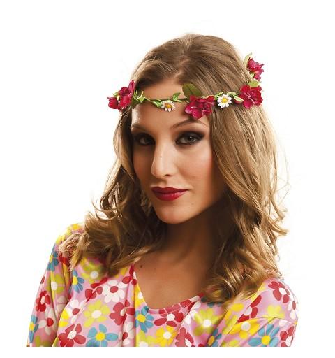 Corona de Hippie Flores