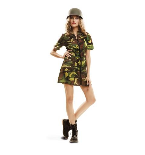 Disfraz Soldado Mujer