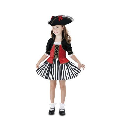 Disfraz Pirata Anne Niña