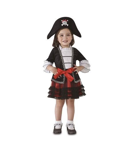 Disfraz Pirata Doncella Niña
