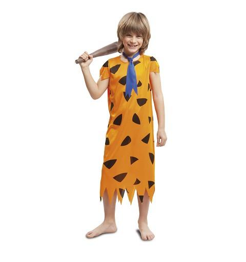 Disfraz Troglodita Orange Niño