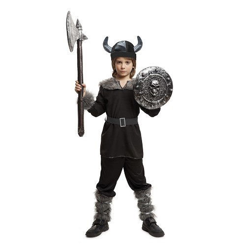 Disfraz Vikingo Salvaje Niño