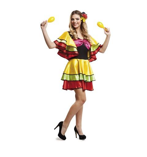 Disfraz Rumbera Mujer