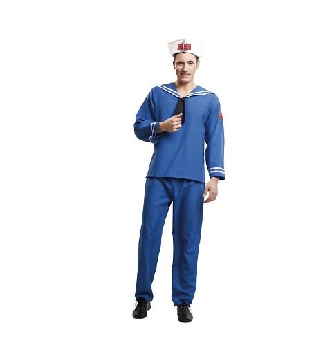 Disfraz Marinero Azul Hombre