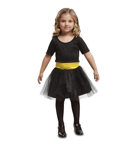 Disfraz Heroína Negra Niña