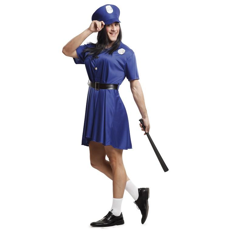 4282cfa63 Disfraz Policia Mujer Hombre - MiDisfraz