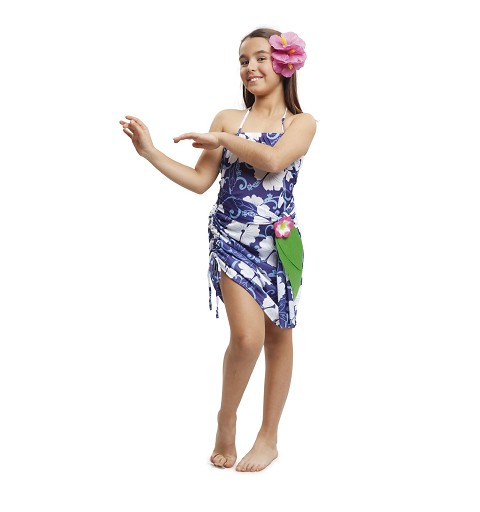 Disfraz Princesa Hawaiana Niña