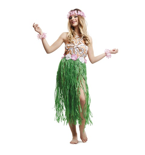 Disfraz Hawaiana Chic Mujer