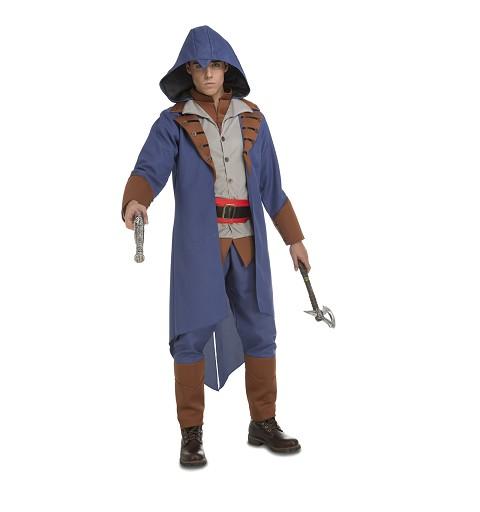 Disfraz Asesino Azul Hombre