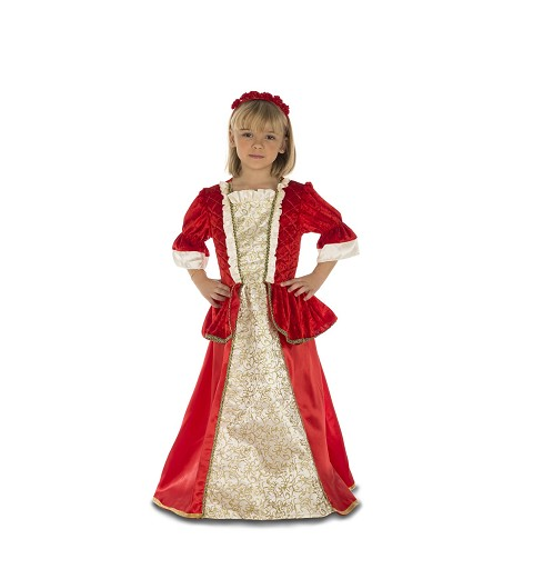 Disfraz Princesa Roja Niña