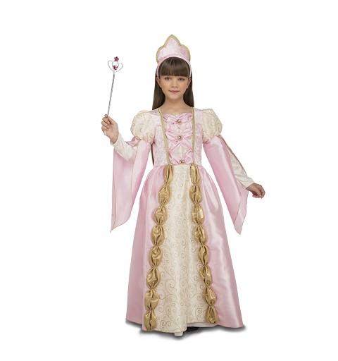 Disfraz Reina Rosa Niña
