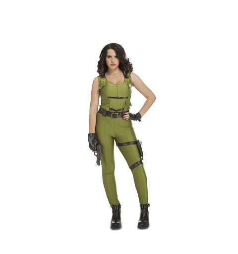 Disfraz Fuerza De Asalto Mujer