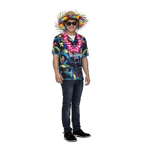 Camiseta Hawaiiano Hombre