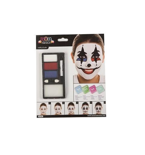 Kit Maquillaje Adulto Arlequin