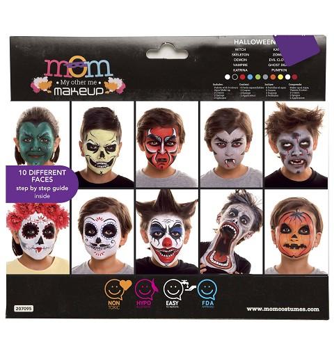 Set Maquillaje Halloween...
