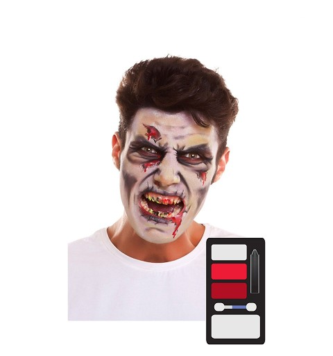 Kit Maquillaje Adulto Zombi