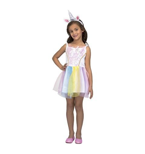 Disfraz Unicornio Niña Vestido