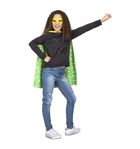 Capa Super Heroe Amarilla...