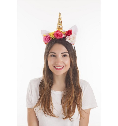 Diadema Unicornio Blanco