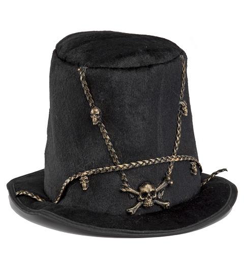 Sombrero Calavera Neón Adulto