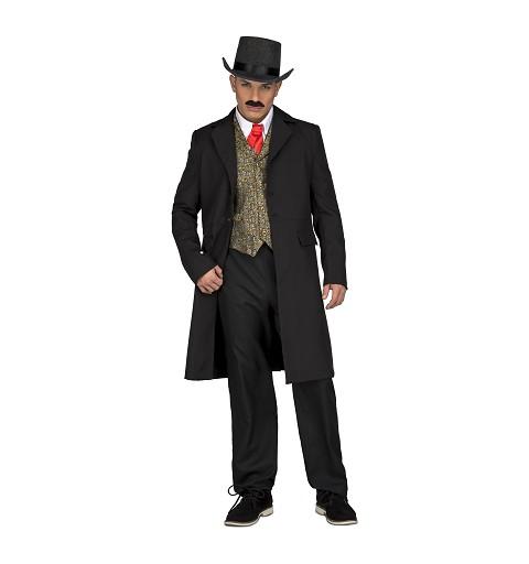 Disfraz Abrigo Croupier Hombre