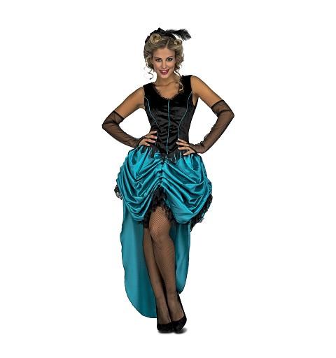 Disfraz Señorita Saloon Mujer