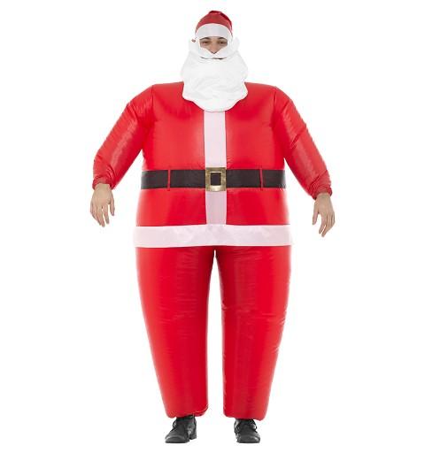 Disfraz Papá Noel Hinchable...