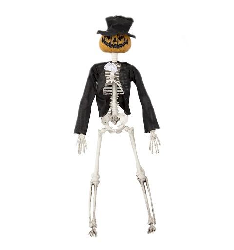 Esqueleto Con Cabeza De...
