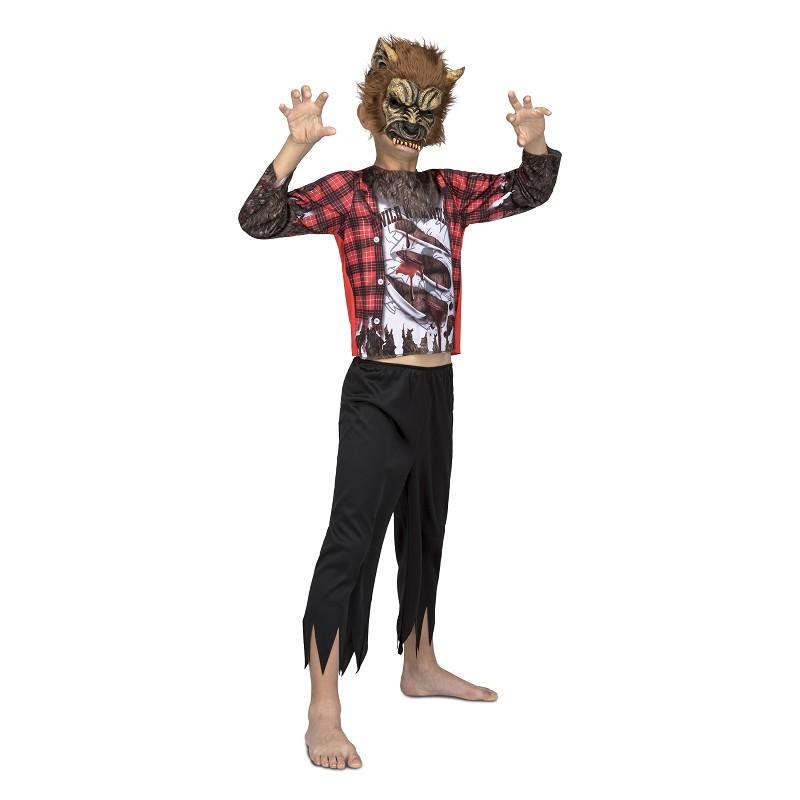 Disfraz Hombre Lobo Nino Infantil