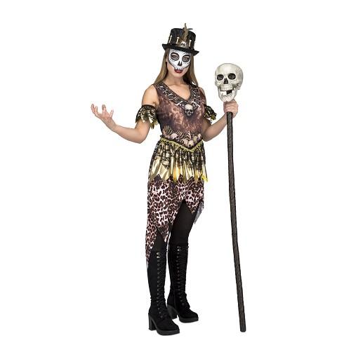Disfraz Voodo Canibal Mujer