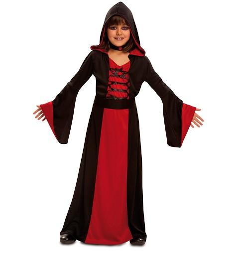 Disfraz Hechicera Roja Niña