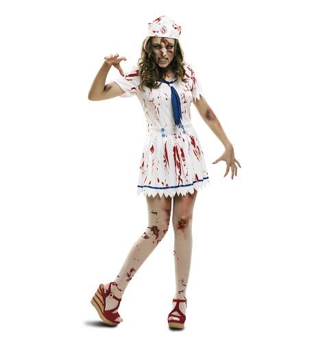 Disfraz Marinera Zombie Mujer