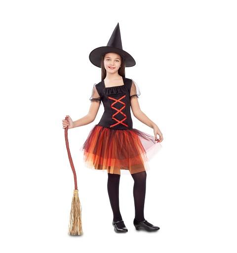 Disfraz Bruja Fantasía Niña
