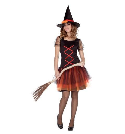 Disfraz Bruja Fantasía Mujer