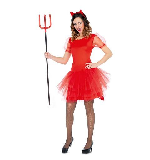 Disfraz Diablesa Tutú Mujer