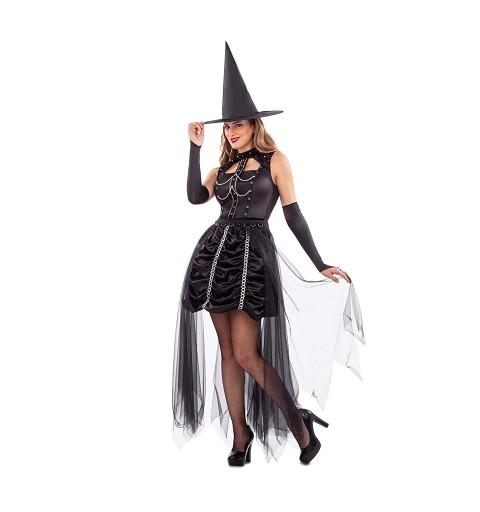 Disfraz Bruja Oscura Mujer