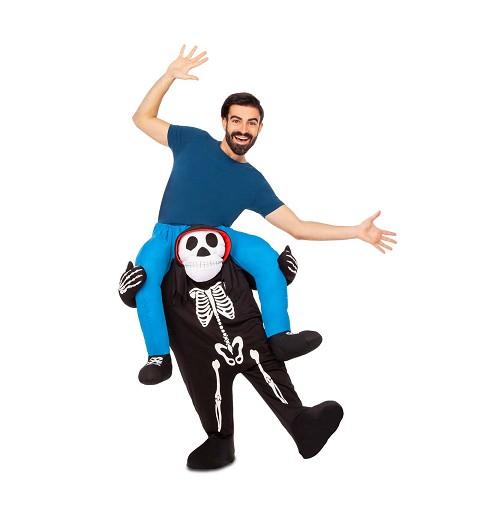 Disfraz a Hombros Esqueleto...
