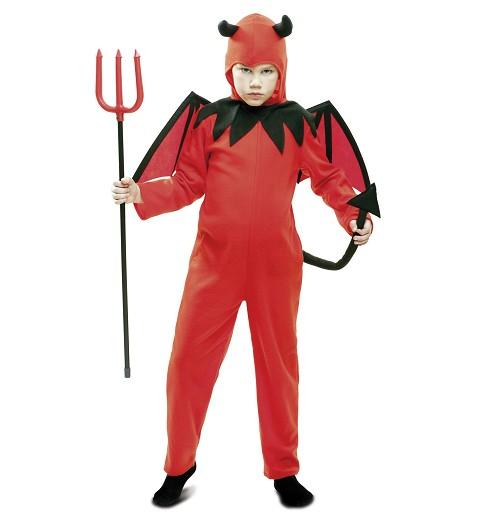 Disfraz Diablo Rojo y Negro...