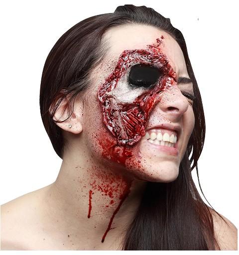 Cicatriz  Zombie Ojo de Látex