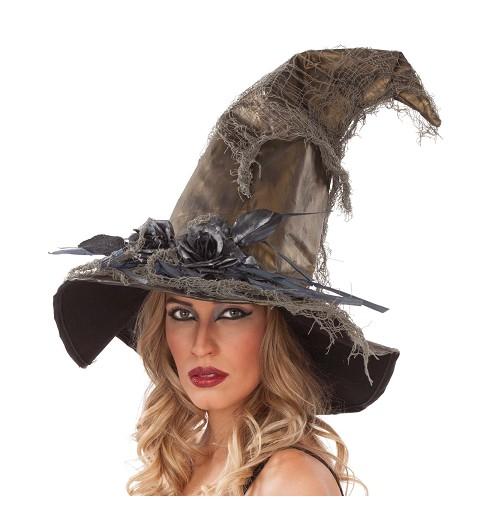 Sombrero de Bruja Flores...