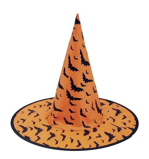 Sombrero De Bruja Naranja...