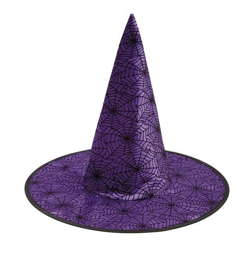Sombrero De Bruja Morado...
