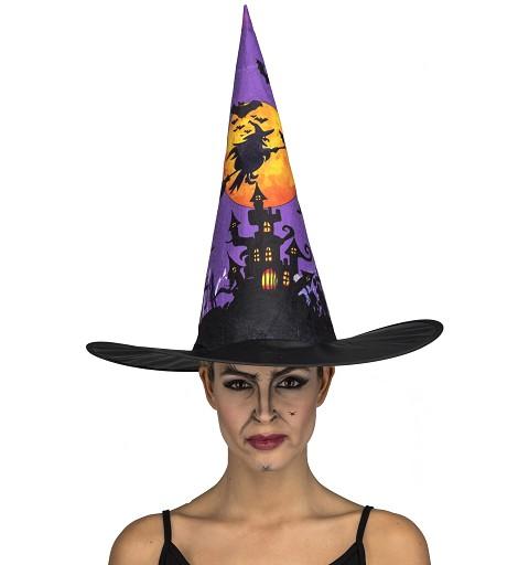 Sombrero De Bruja Castillo...