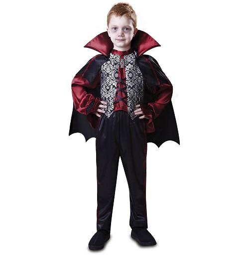 Disfraz Dracula Negro Niño