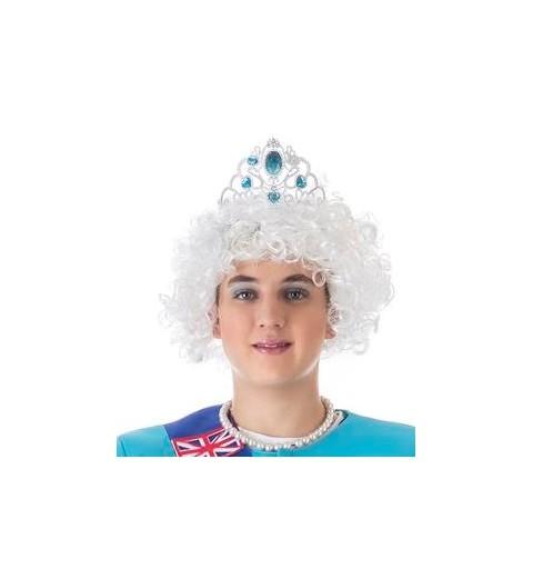 Peluca Afro Blanca