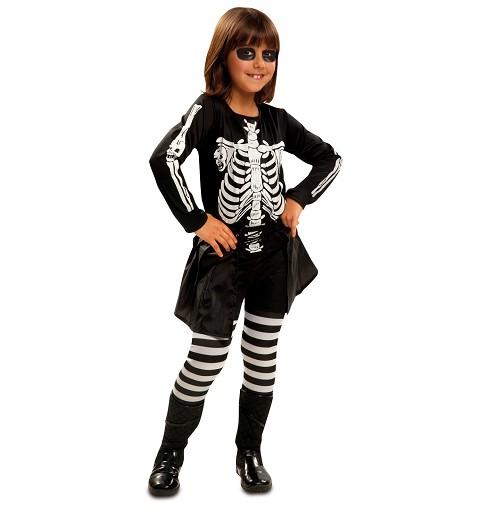 Disfraz Skeleto Niña