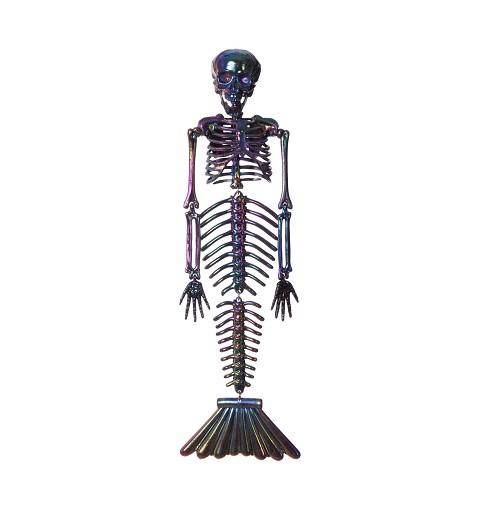 Esqueleto Sirena Cromado