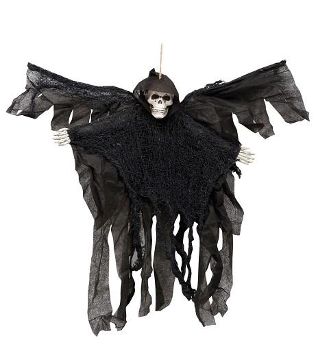 Muerte Alada Negra Colgante